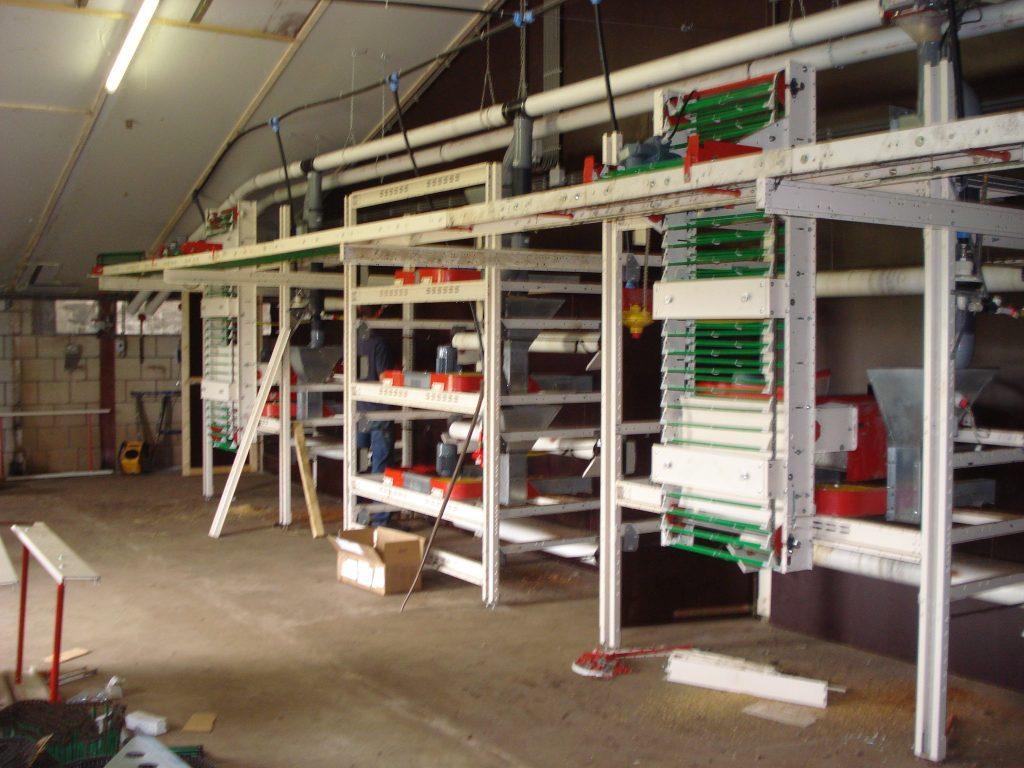 2008 Ombouw kippenstallen