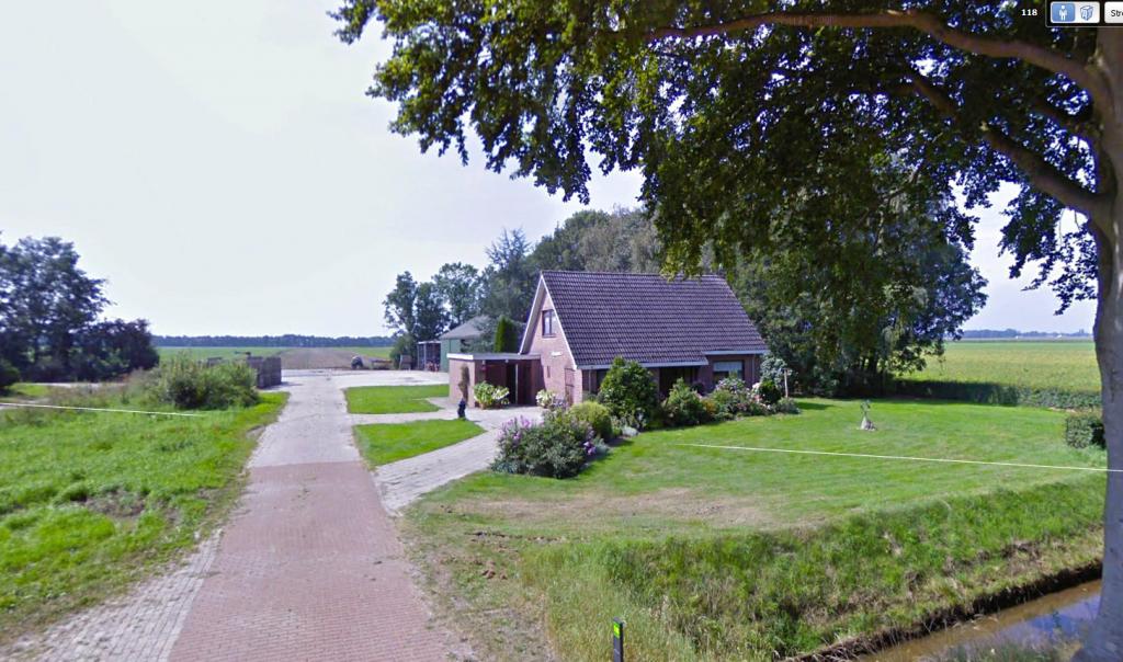 """2011 aanschaf bouwblok/boerderij  Kloosterdijk 118 """"Zelden Rust"""""""