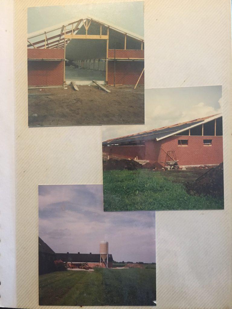 1988 Bouw eerste kippenschuur