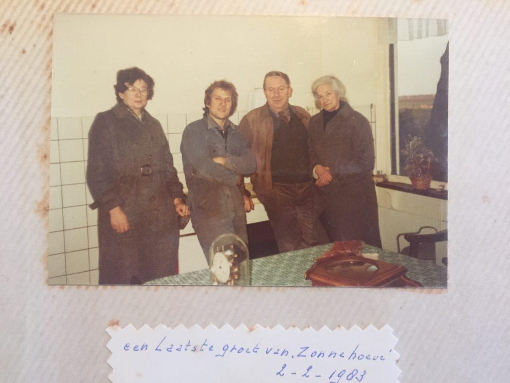 """1982 Start Herman op de """"Zonnehoeve"""""""